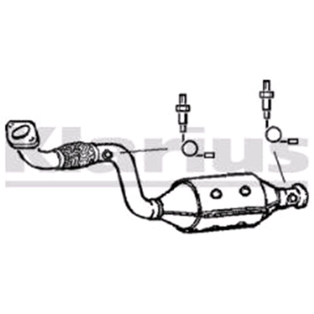 Klarius Catalytic Converter 321177