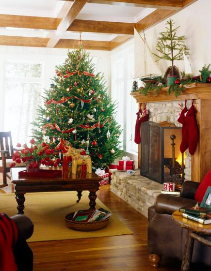 decorate small living room for christmas furniture rooms to go 25 beautiful midwest family heritage