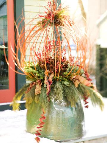 Outdoor Winter Decorating Ideas