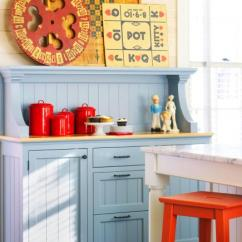 Decorating Ideas Kitchens How To Paint Stained Kitchen Cabinets White 10 Country Midwest Living Add Dashes Of Color