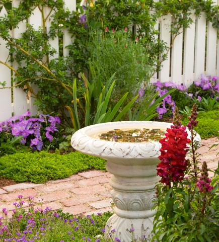 Birdbaths To Enhance Your Landscape Midwest Living