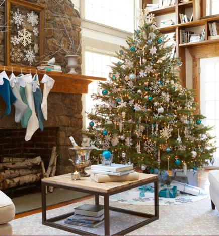 beautiful living rooms at christmas beach room pics 25 midwest decorating blizzard freshen your