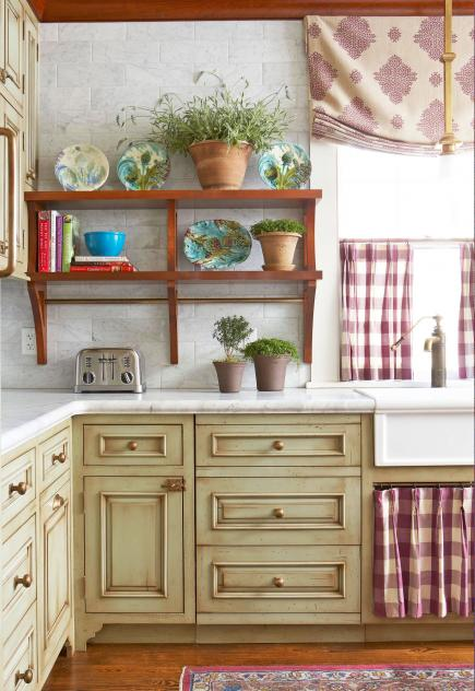 kitchen cabinet makeovers gel mats for 25 ideas midwest living country charms cabinets