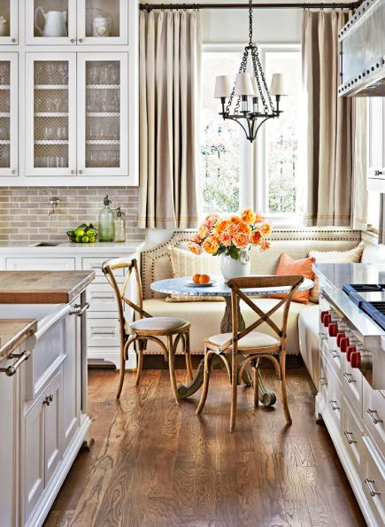 kitchen banquette moen sink faucets 7 ideas for banquettes midwest living