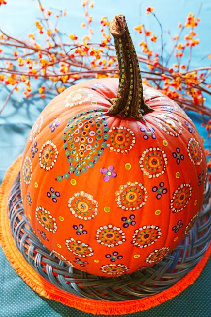 Easy Painted Pumpkins  Midwest Living