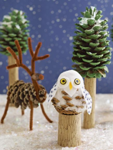 Pinecone Crafts and Decorations Youll Want to Try