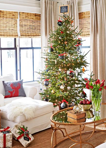 beautiful living rooms at christmas set of room furniture 25 midwest