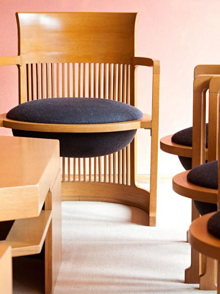 Frank Lloyd Wright Barrel Chair Plans