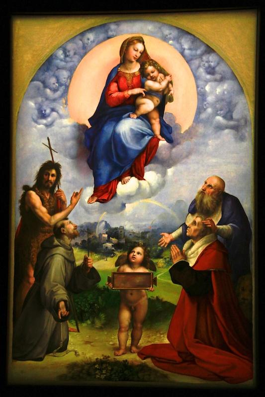 La Madonna di Raffaello debutta in Sala Alessi  Corriereit