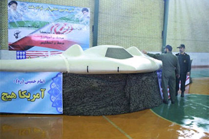 Iran says its building copy of captured US drone