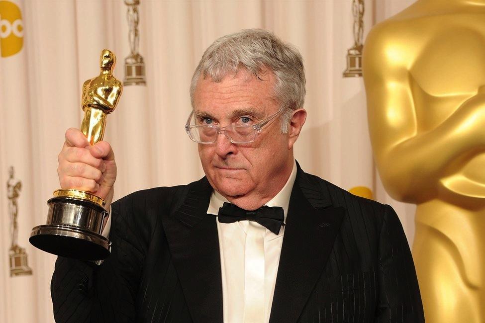 Randy Newman amb un Oscar a la ma