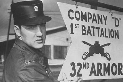 Elvis Presley in the Army