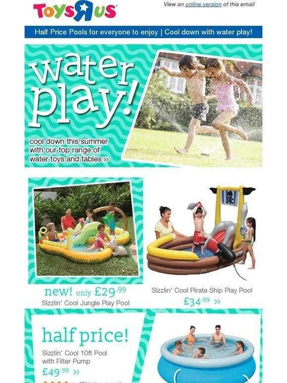 Sizzlin Cool Pool : sizzlin, Sizzlin, Jungle, Splash