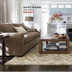 Crate And Barrel Verano Sofa Home 3 Seater Rattan Effect Mini Corner Cover Final Weekend 15 Off Top Rated Sofas Chairs Axis Ii 2 Seat