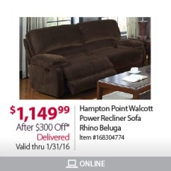 Beaumont Sofa Bjs Blue Denim And Loveseat Wholesale Club Don T Wait In Line For Popcorn Milled Handy Living Brown Hampton Point Recliner