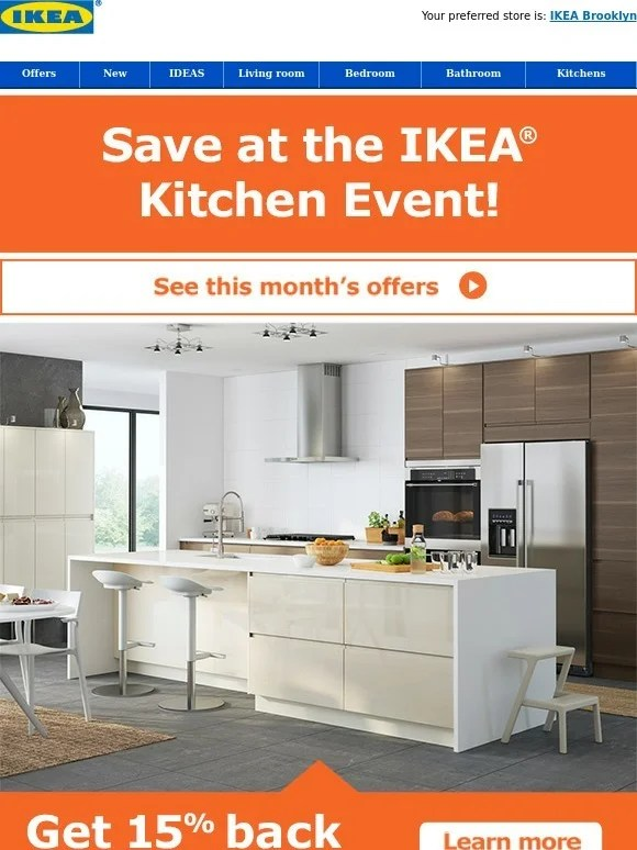 IKEA The IKEA Kitchen Event Continues Milled