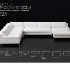 Italia Sofa Rh Wayfair Sofas Leather Restoration Hardware Save 25 On The Track Arm