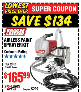 Harbor Freight Sprayer Coupon