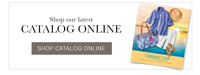 Coldwater Creek Online Shopping