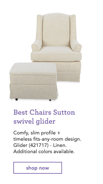 toys r us glider chair what is an air babies 20 off gliders a hack to keep em clean milled best chairs sutton swivel comfy slim profile timeless fits any room
