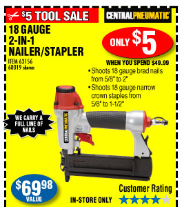 Harbor Freight Nail Gun Coupon