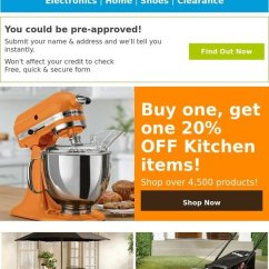 Fingerhut Kitchen Outdoor Prefab Kits Savings Bogo 20 Off Milled