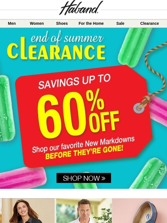 Haband Shop our favorite Markdowns 60 Off  Milled