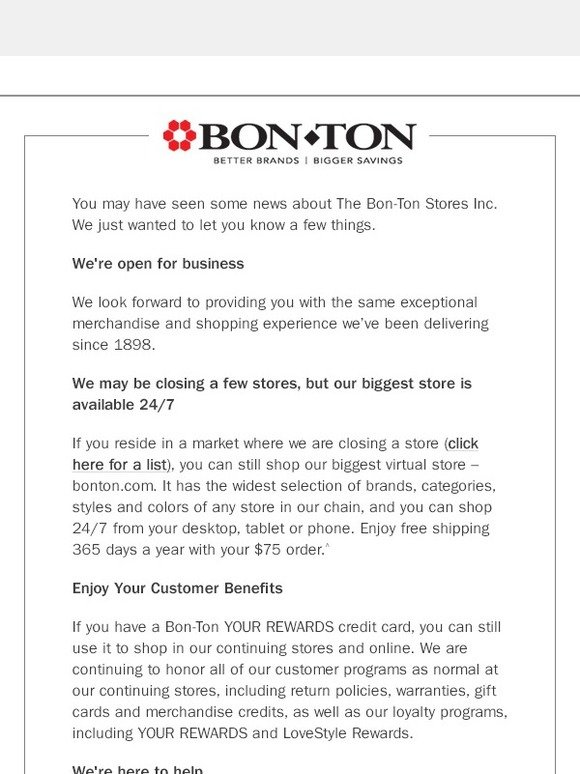 Bon ton credit card closing poemview bonton news about bon ton milled colourmoves