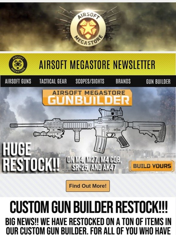 airsoftmegastore com build your