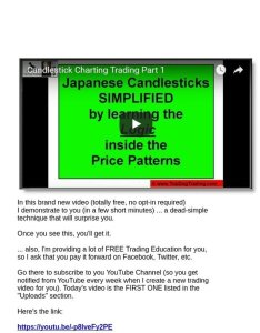 Top dog trading simplified how to trade any candlestick pattern free youtube video milled also rh