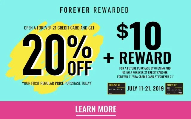 forever 21 now in