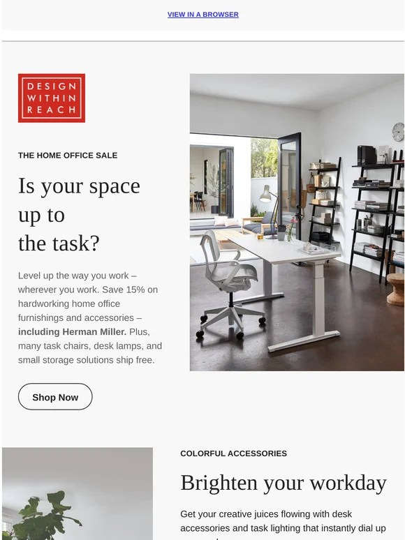 design within reach the home office