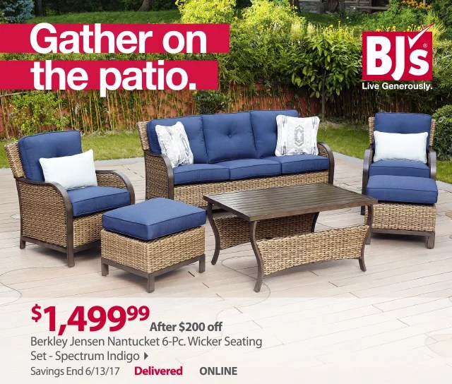 bjs wholesale club outdoor living for