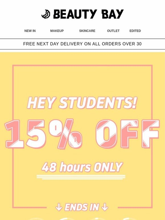 Code Promo Beauty Bay : promo, beauty, Beauty, STUDENT, DISCOUNT:, Milled