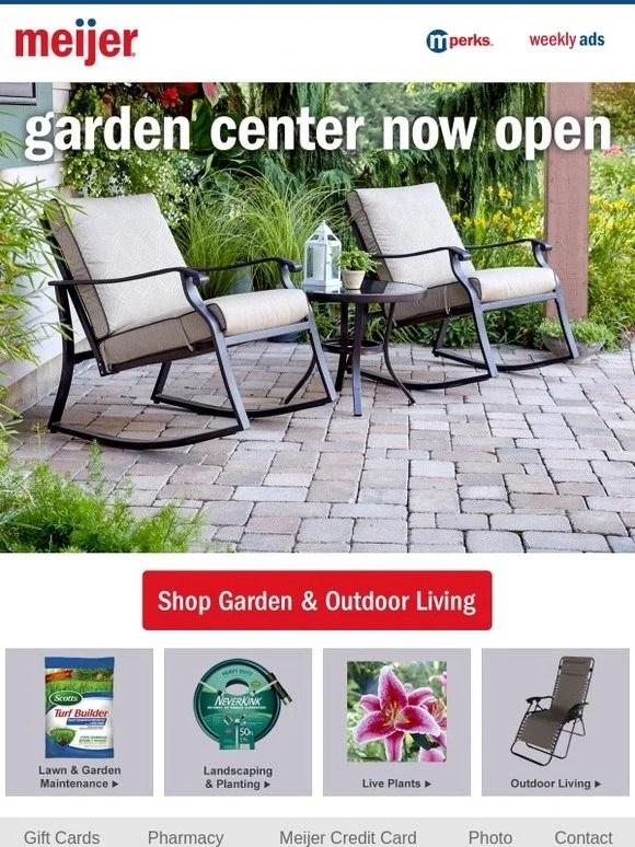 meijer new garden outdoor living