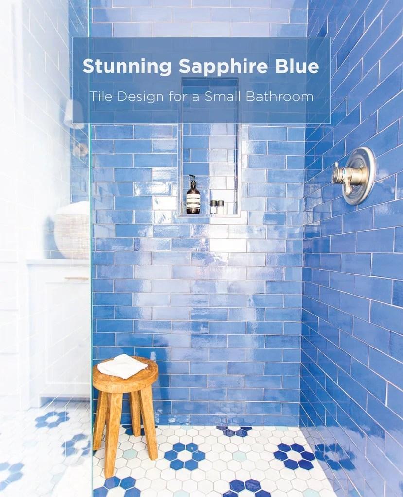 mercury mosaics stunning sapphire blue