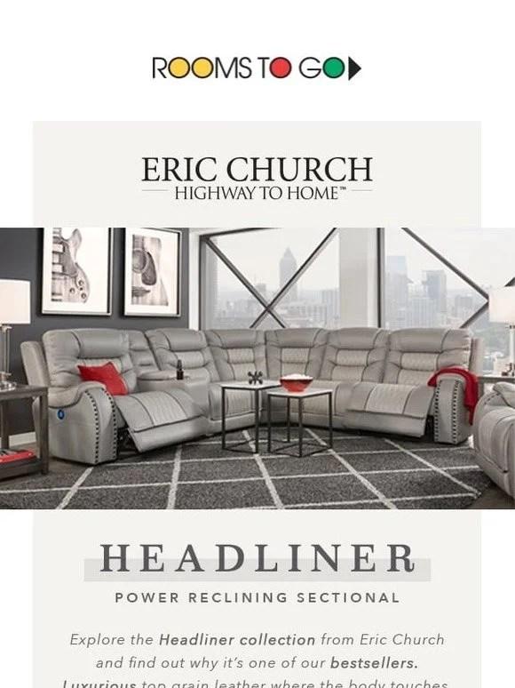 Eric Church Furniture : church, furniture, Rooms, Kids:, Relax, Recline, Church, Headliner, Living, Room!, Milled