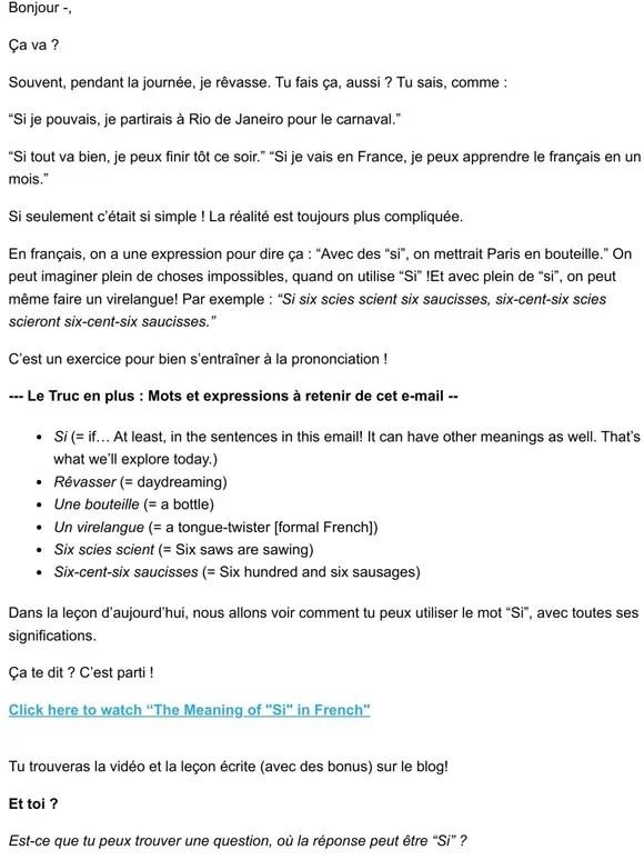 """Avec Des Si On Mettrait Paris En Bouteille : mettrait, paris, bouteille, Comme, Francaise:, Meanings, """"Si"""", Explained, Milled"""