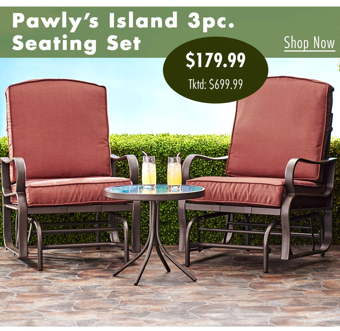 shop an extra 20 off patio sets