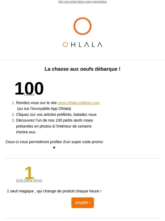 Code Promo Ohlala Sellerie : promo, ohlala, sellerie, Ohlala, Sellerie:, Lancez-vous, Chasse, Oeufs, Milled