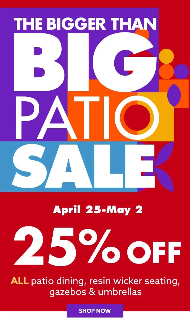 big lots patio collections to make the