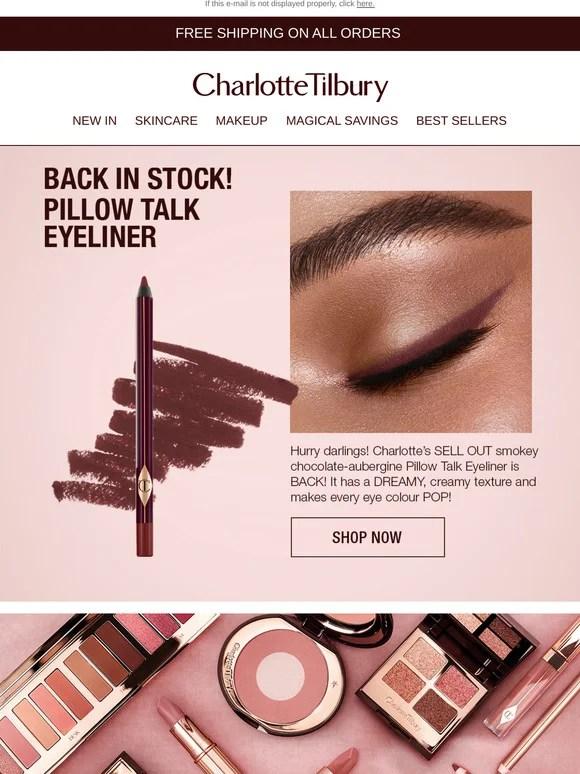 pillow talk eyeliner