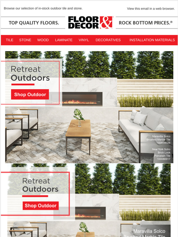 shop new styles of outdoor tile stone