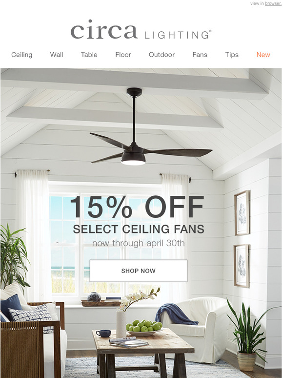 circa lighting were a fan of this sale