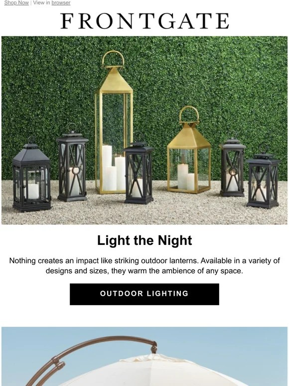 warm the ambience of any outdoor space