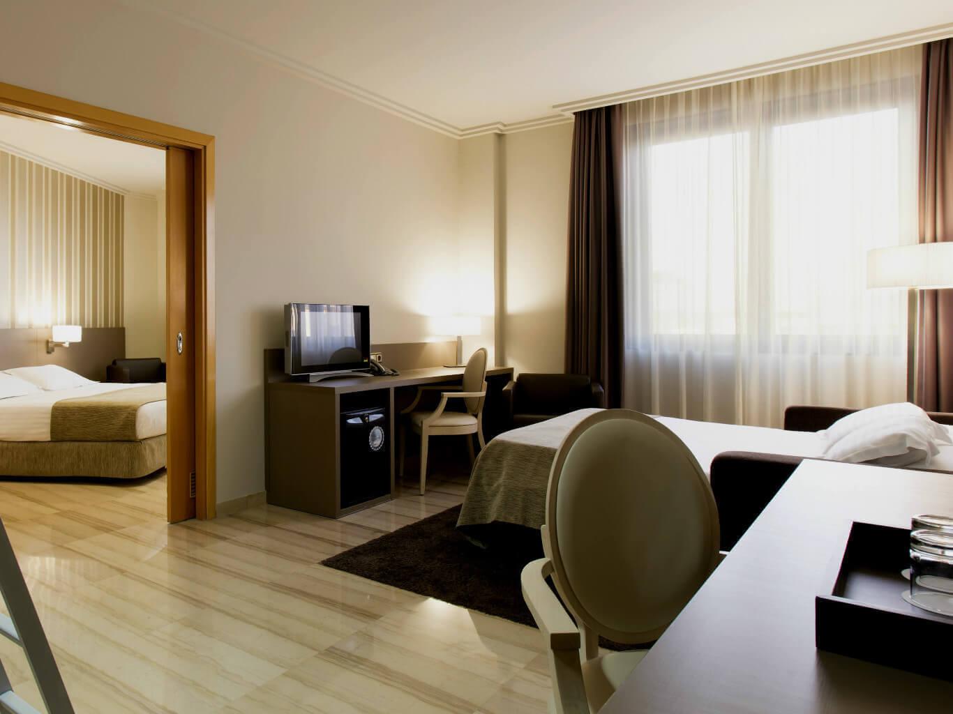 Habitacin Familiar  Hotel Ciutat de Tarragona Tarragona