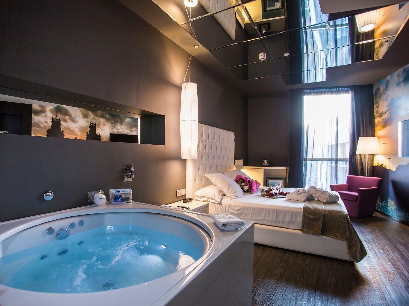 Habitacion Con Jacuzzi Hotel Madrid