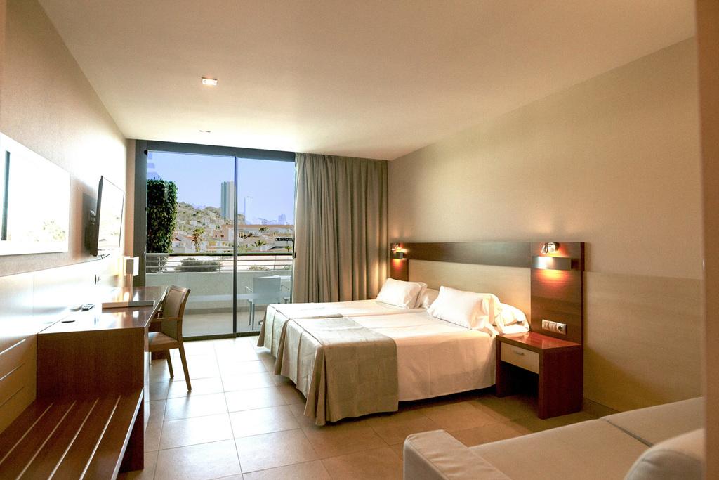Habitaciones  Hotel Deloix Aqua Center 4 Benidorm  Web