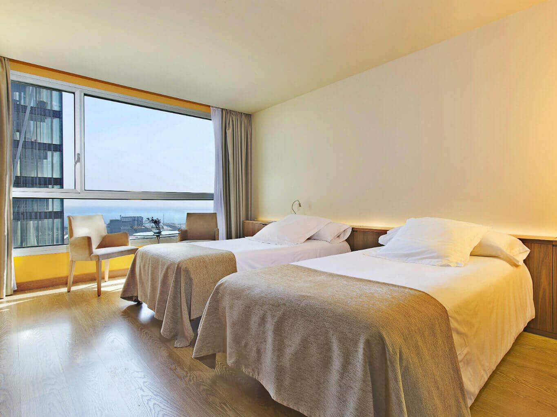 Habitacin Familiar  Hotel Diagonal Zero Barcelona