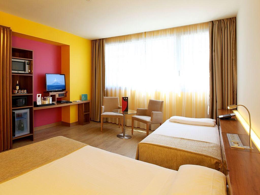Habitaciones y Suites del Hotel SB Diagonal Zero en Barcelona